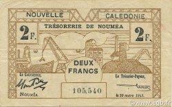 2 Francs NOUVELLE CALÉDONIE  1943 P.56b TTB