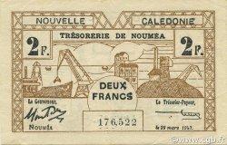 2 Francs NOUVELLE CALÉDONIE  1943 P.56b SUP