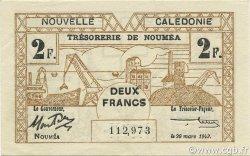 2 Francs NOUVELLE CALÉDONIE  1943 P.56b SPL
