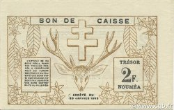 2 Francs NOUVELLE CALÉDONIE  1943 P.56a pr.NEUF