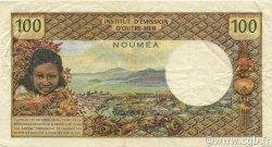 100 Francs NOUVELLE CALÉDONIE  1969 P.59 TTB+