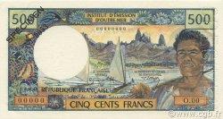500 Francs NOUVELLE CALÉDONIE  1970 P.60as pr.NEUF