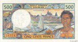 500 Francs NOUVELLE CALÉDONIE  1970 P.60a pr.NEUF