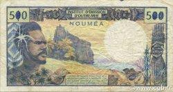 500 Francs NOUVELLE CALÉDONIE  1990 P.60d TB