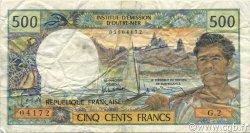 500 Francs NOUVELLE CALÉDONIE  1990 P.60d TTB