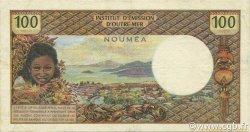 100 Francs NOUVELLE CALÉDONIE  1971 P.63a TTB+