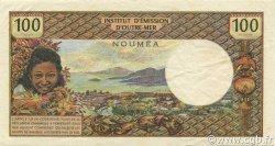 100 Francs NOUVELLE CALÉDONIE  1971 P.63a TTB