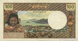 100 Francs NOUVELLE CALÉDONIE  1972 P.63b TTB