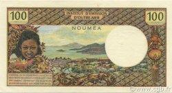100 Francs NOUVELLE CALÉDONIE  1972 P.63b SUP+