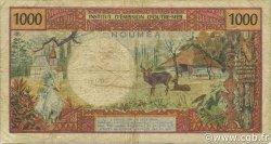 1000 Francs NOUVELLE CALÉDONIE  1971 P.64a TB