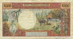 1000 Francs NOUVELLE CALÉDONIE  1971 P.64a TB à TTB
