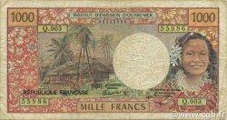 1000 Francs NOUVELLE CALÉDONIE  1994 P.64(c) B+