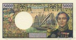 5000 Francs NOUVELLE CALÉDONIE  1975 P.65b SPL+
