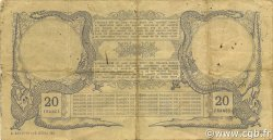 20 Francs NOUVELLE CALÉDONIE  1921 P.20 TB à TTB