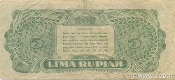 5 Rupiah INDONÉSIE  1947 P.021 TB+