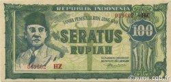 100 Rupiah INDONÉSIE  1947 P.024b SUP