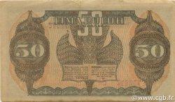 50 Rupiah INDONÉSIE  1947 P.028 TTB
