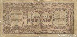 100 Rupiah INDONÉSIE  1947 P.029 TB