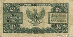 2,5 Rupiah INDONÉSIE  1953 P.041 TB+