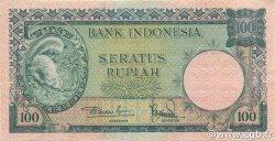 100 Rupiah INDONÉSIE  1957 P.051 pr.NEUF