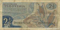 2,5 Rupiah INDONÉSIE  1961 P.079 TB+