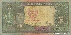 5 Rupiah INDONÉSIE  1963 PS.R03 TTB