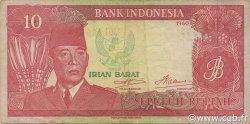 10 Rupiah INDONÉSIE  1963 PS.R04 TTB