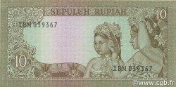 10 Rupiah INDONÉSIE  1960 P.083 pr.NEUF