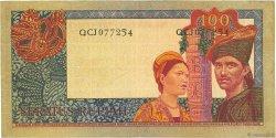 100 Rupiah INDONESIA  1960 P.086a