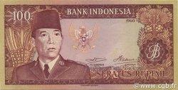 100 Rupiah INDONÉSIE  1960 P.086a SPL+