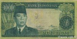 1000 Rupiah INDONÉSIE  1960 P.088b TTB
