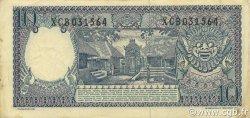 10 Rupiah INDONÉSIE  1963 P.089 TTB