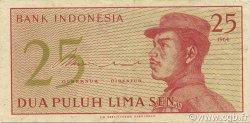 25 Sen INDONÉSIE  1964 P.093a SUP