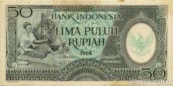 50 Rupiah INDONÉSIE  1964 P.096 SUP