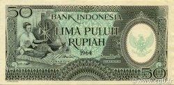 50 Rupiah INDONÉSIE  1964 P.096 SPL