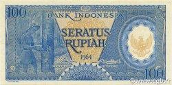 100 Rupiah INDONÉSIE  1964 P.098 NEUF