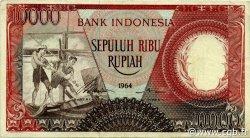 10000 Rupiah INDONÉSIE  1964 P.099 TTB+