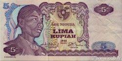 5 Rupiah INDONÉSIE  1968 P.104a SUP
