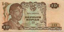10 Rupiah INDONÉSIE  1968 P.105a TTB
