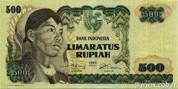 500 Rupiah INDONÉSIE  1968 P.109a SUP