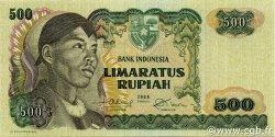 500 Rupiah INDONÉSIE  1968 P.109a SPL+