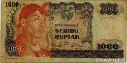 1000 Rupiah INDONÉSIE  1968 P.110a TB