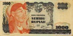 1000 Rupiah INDONÉSIE  1968 P.110a TTB+