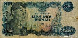 5000 Rupiah INDONÉSIE  1968 P.111a TB