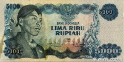 5000 Rupiah INDONÉSIE  1968 P.111a TTB+