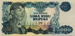 5000 Rupiah INDONÉSIE  1968 P.111a NEUF