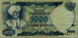 1000 Rupiah INDONÉSIE  1975 P.113a TB