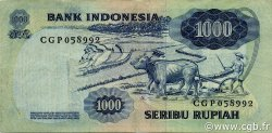 1000 Rupiah INDONÉSIE  1975 P.113a TTB
