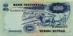 1000 Rupiah INDONÉSIE  1975 P.113a SUP