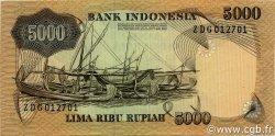 5000 Rupiah INDONÉSIE  1975 P.114a SPL+